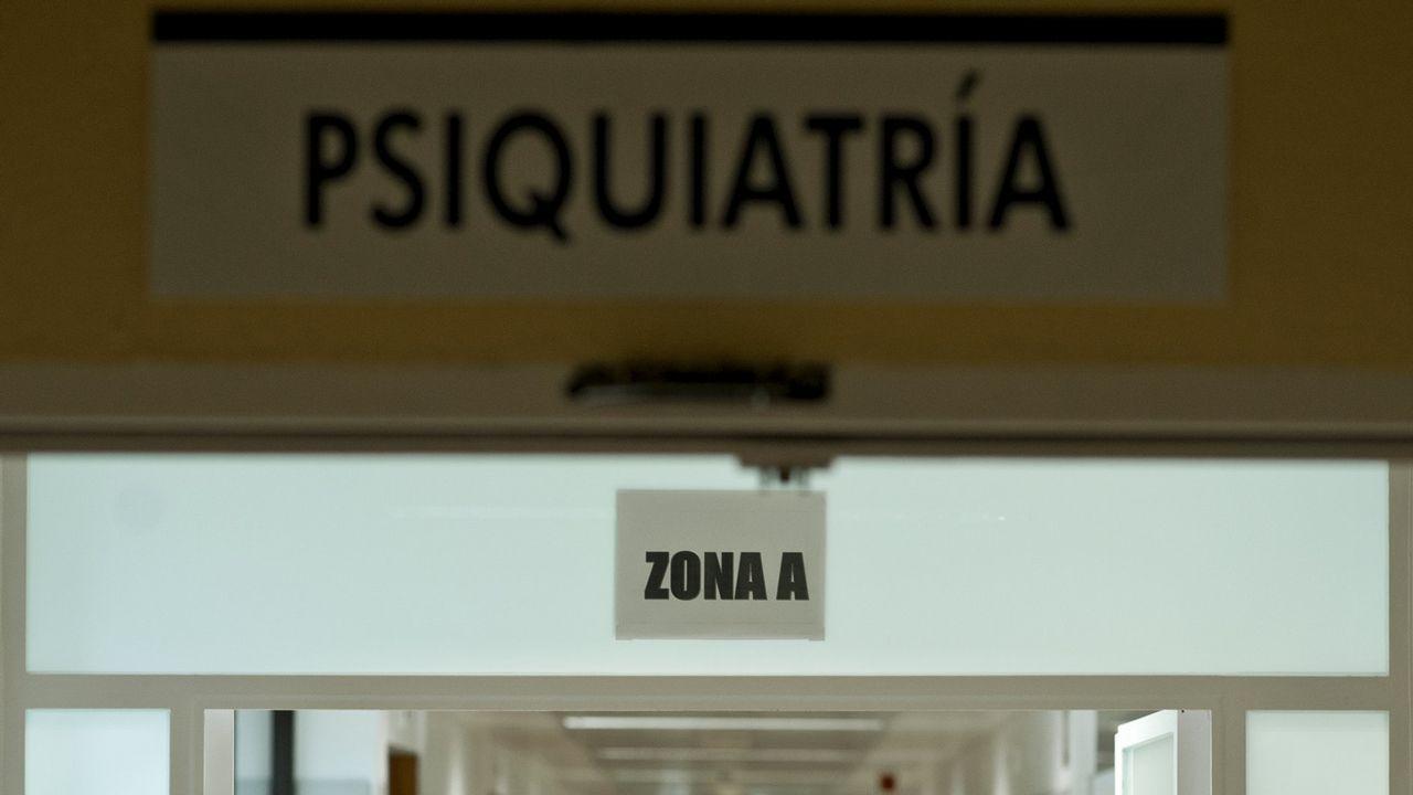 Unidad de psiquiatría de un hospital gallego