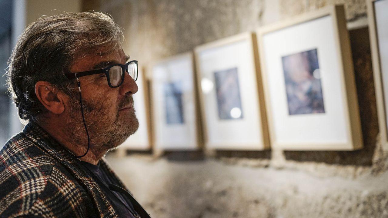 Queda inaugurado el OUFF 2019.Presentación de «Memoria erótica», este lunes en Ourense. En primer plano, Laura Gárdos Velo, nieta del cineasta ourensano