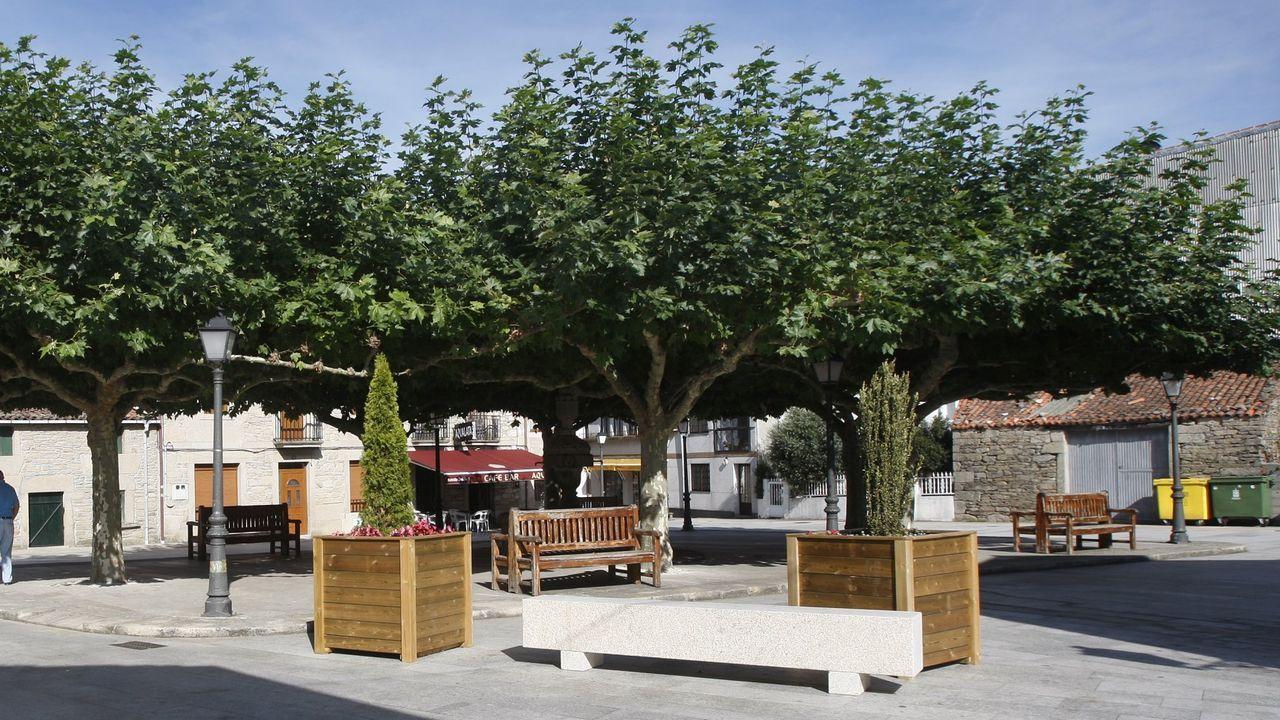 Zona despoblada en la provincia de Ourense, antes de A Gudiña