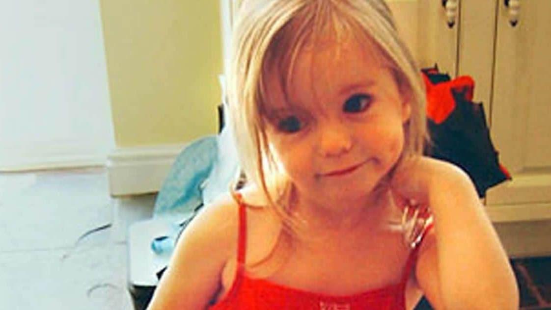 Madeleine tenía casi cuatro años cuando desapareció en Praia da Luz, en Portugal