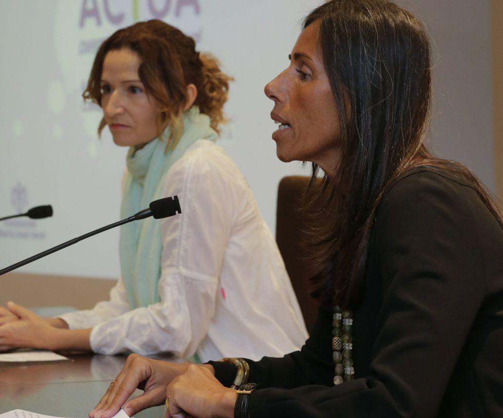 María Martínez y Felipa Jove presentaron la nueva edición.