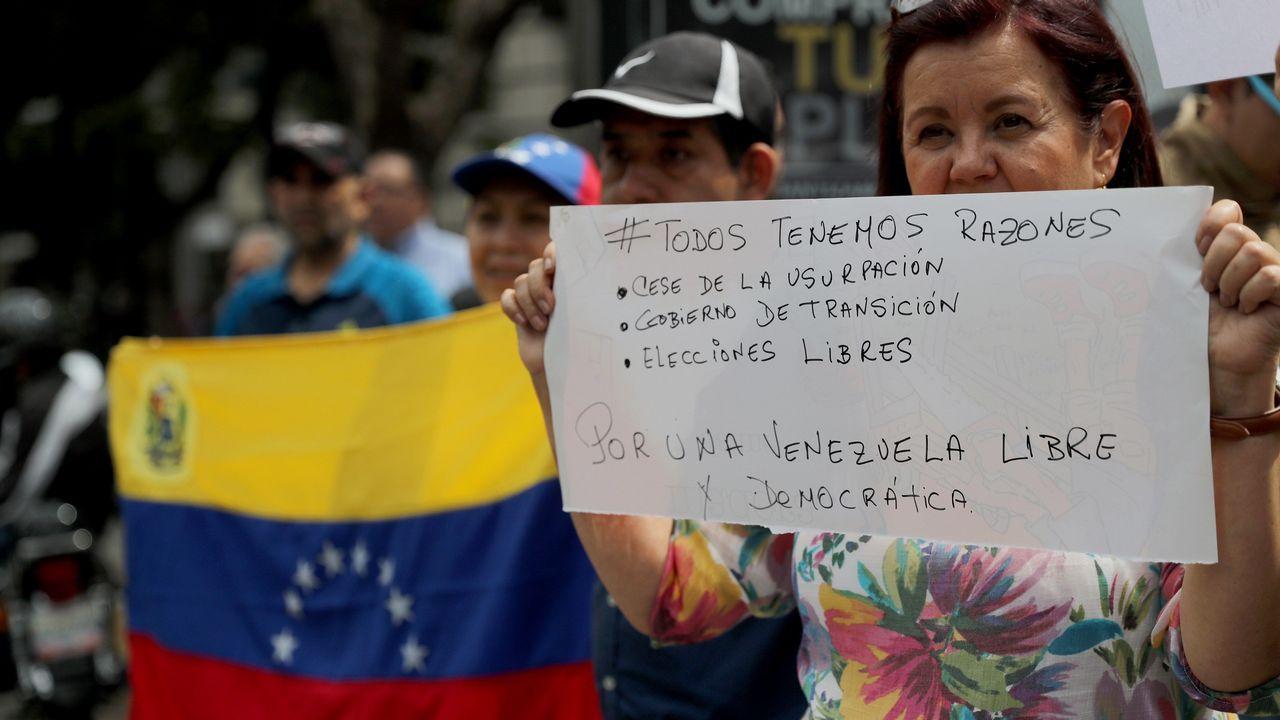 Los hashtags #TúTambién y #TodosTenemosRazones fueron los usados en la marcha de ayer
