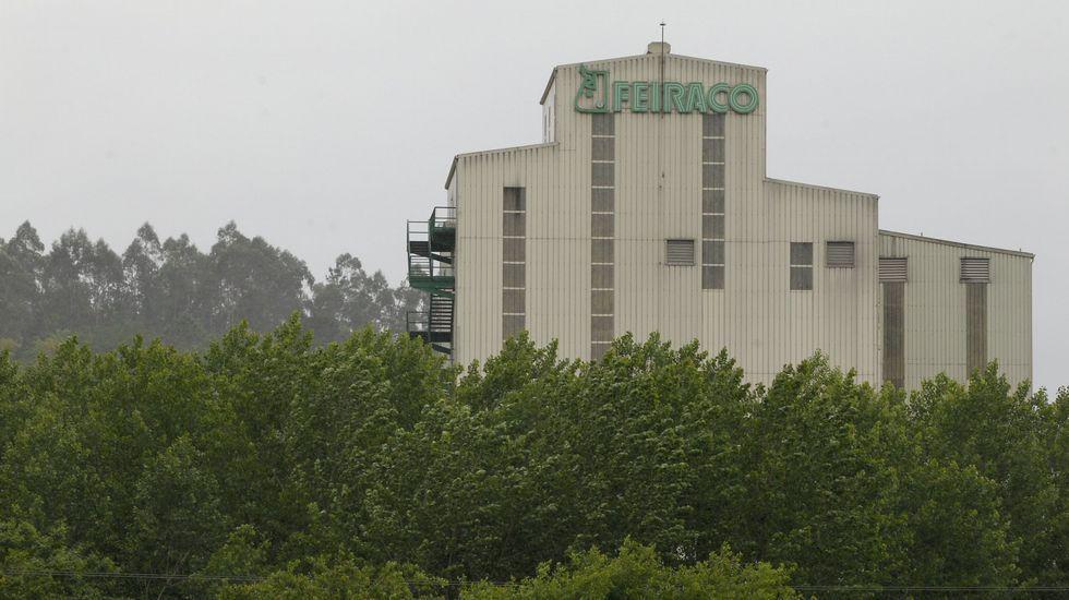 La factoría de Lantero en Vilagarcía se ubica desde hace seis años en el polígono de O Pousadoiro, después de que el grupo invirtiese en ella 9 millones de euros.