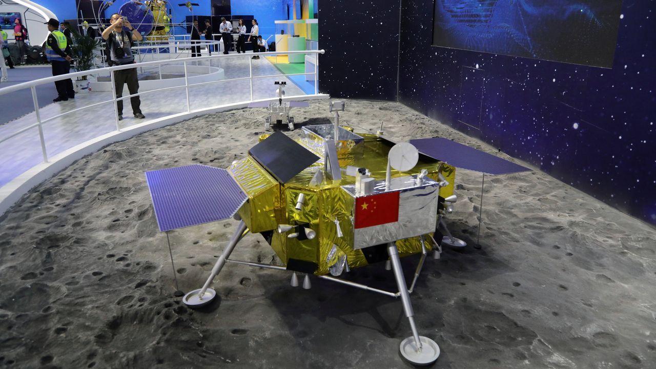 Un modelo del Chang'e 4
