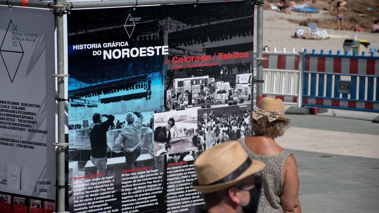 Imagen de archivo de la exposición sobre el Festival Noroeste