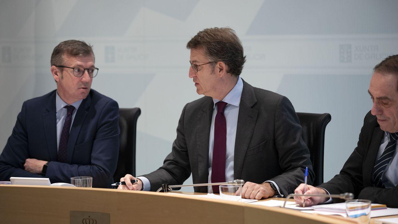 El Consejo de Política Fiscal y Financiera se reunirá el viernes.Feijjo, con Íñigo Urkullu, en una de sus visitas al País Vasco
