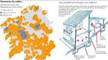 Presencia de radón