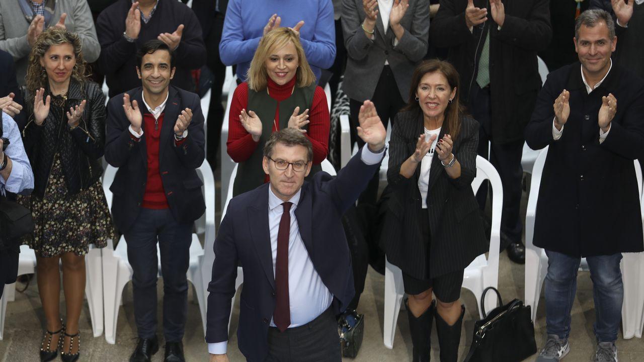 Feijoo preside el aniversario de la Victoria electoral del 2009