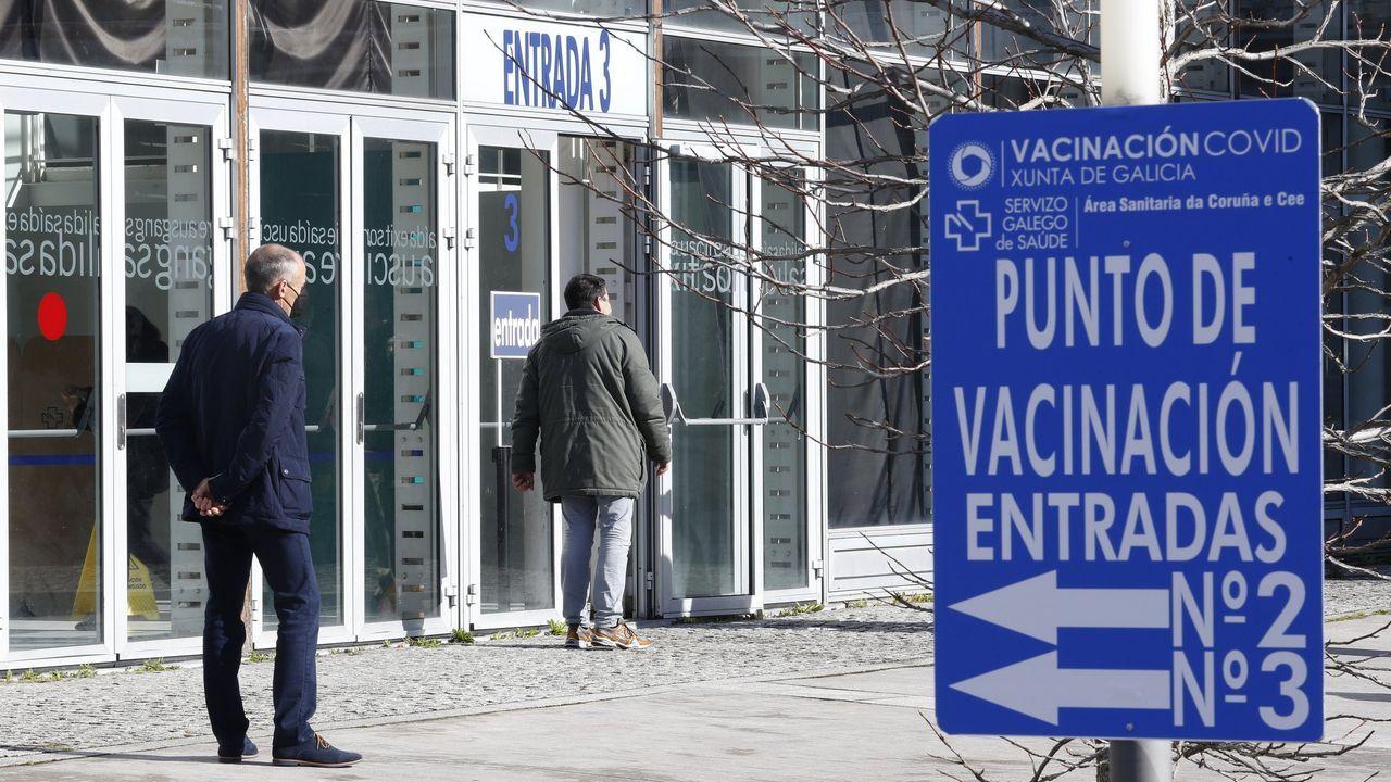 La vacunación contra el covid en Asturias