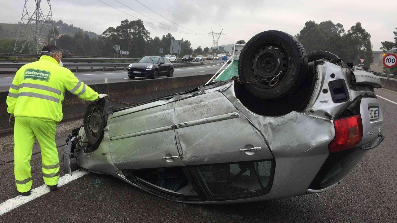 Imagen de archivo de la zona del accidente.Imagen de archivo