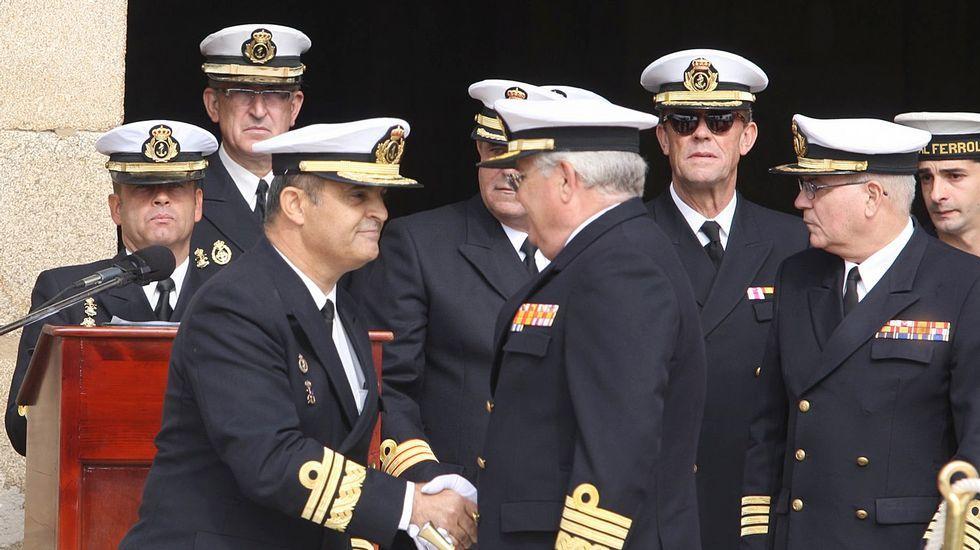 Toma de posesión de Manuel Garata en octubre del 2012