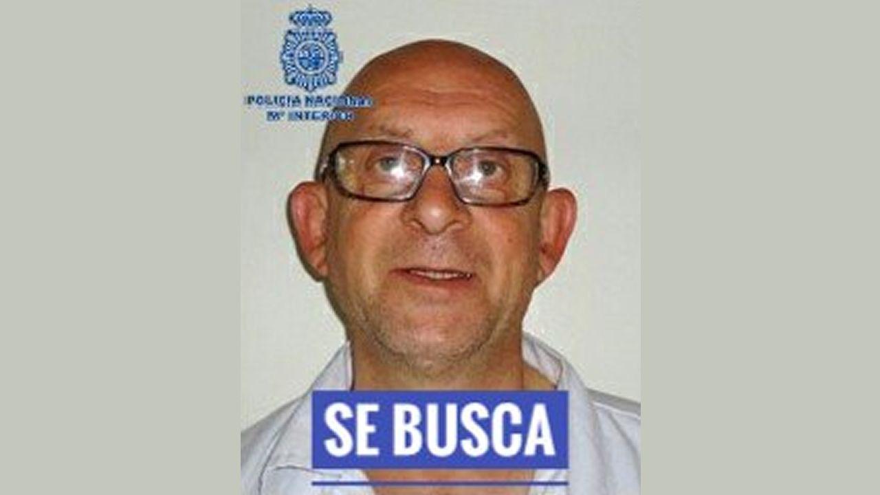 Un preso condenado a 54 años se fuga de una prisión de Ourense.Fernando Iglesias Espiño, en una foto difundida por la Delegación del Gobierno en Galicia