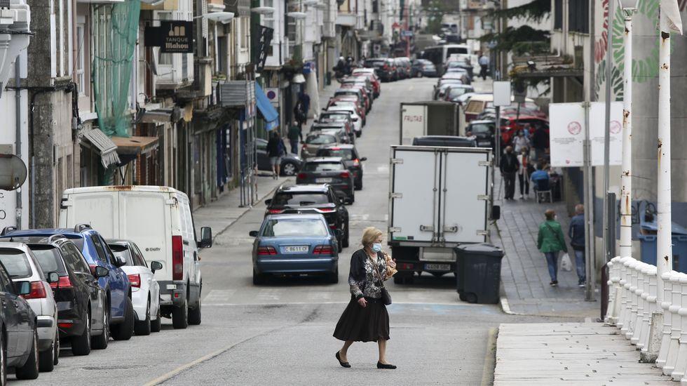 El estacionamiento en línea actual desaparecerá y su espacio se destinará a aceras más anchas