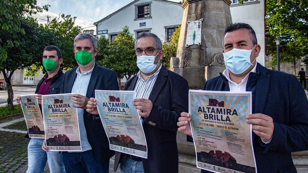 Alumnos del CEIP San Pedro de Visma de A Coruña que participaron en el proyecto Plantando o Camiño, ganador provincial del Premio Voz Natura