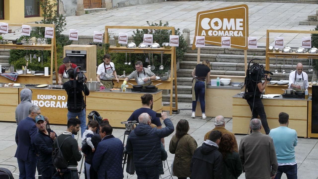 Aves que se pueden observar en el área urbana de Monforte durante el confinamiento.Un concurso popular na praza de España de Monforte ocupa una parte do programa