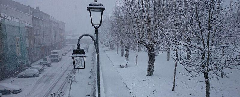 fonsagrada_portada.Nevada en O Vieiro, Ourense