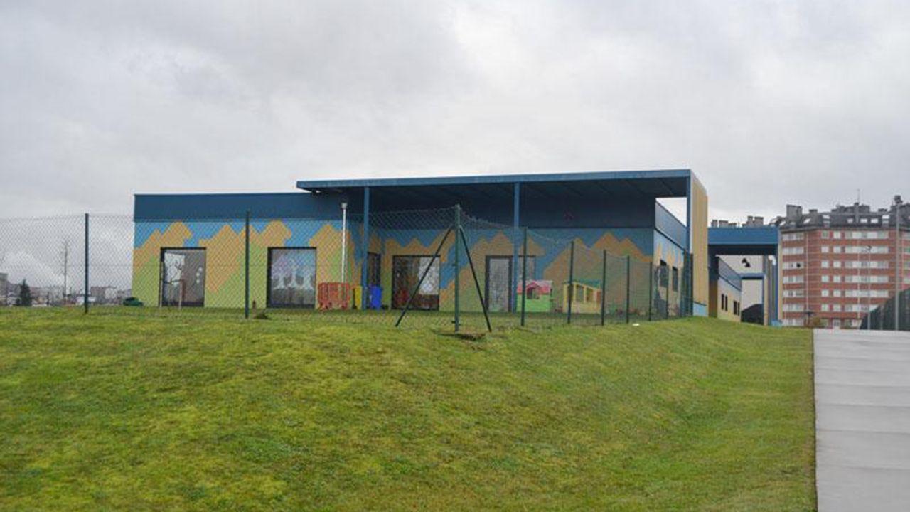 Escuela infantil Rubín, en Oviedo