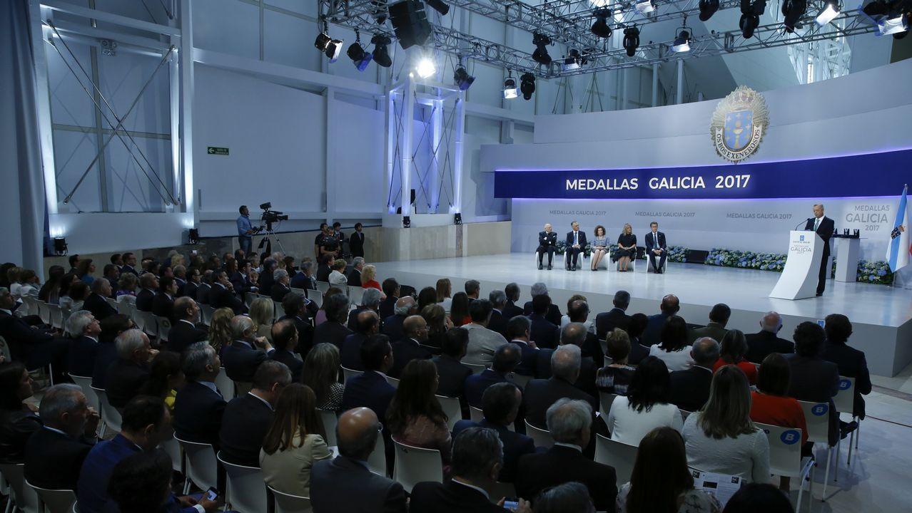 Entrega de las Medallas de Galicia 2017
