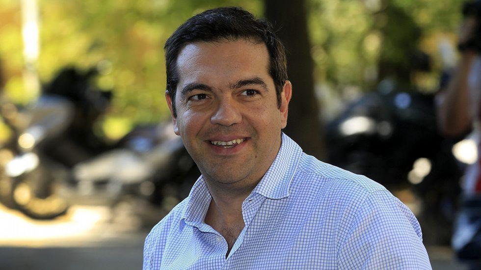 GRECIA VOTA. «El pueblo griego (...) tomará el futuro en sus manos» y «sellará la transición hacia una nueva era», dijo Tsipras en declaraciones transmitidas en directo por la televisión.