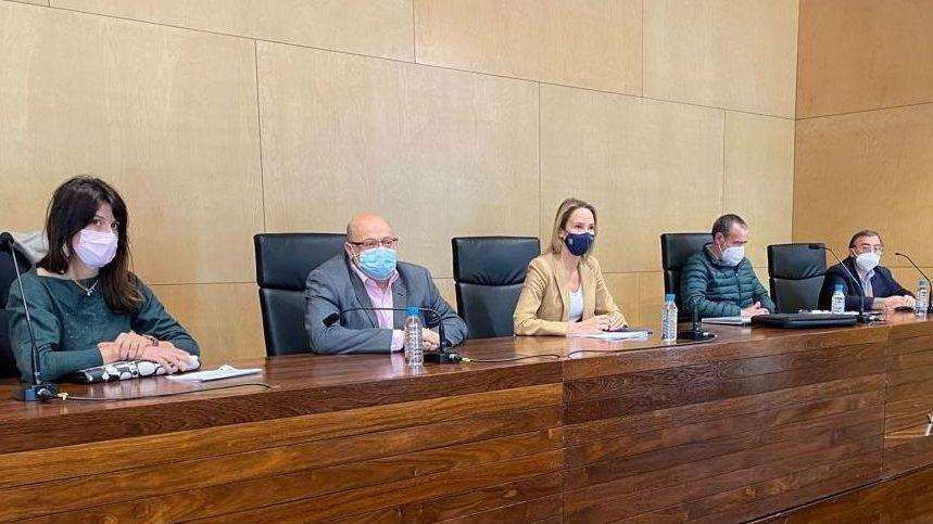 Ángeles Vázquez, conselleira de Medio Ambiente, Territorioe Vivenda: «Non hai barra libre para os parques eólicos en Galicia».Zona de Telleiras, en foto de archivo