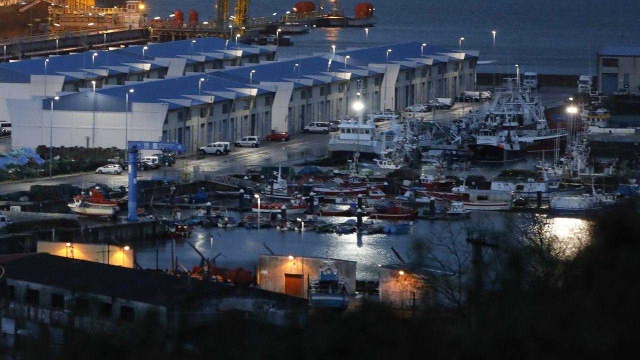Feijoo:«Una improvisación de 24 horas España no se la merece».Pesqueros en el puerto coruñés de Oza, en una imagen de archivo