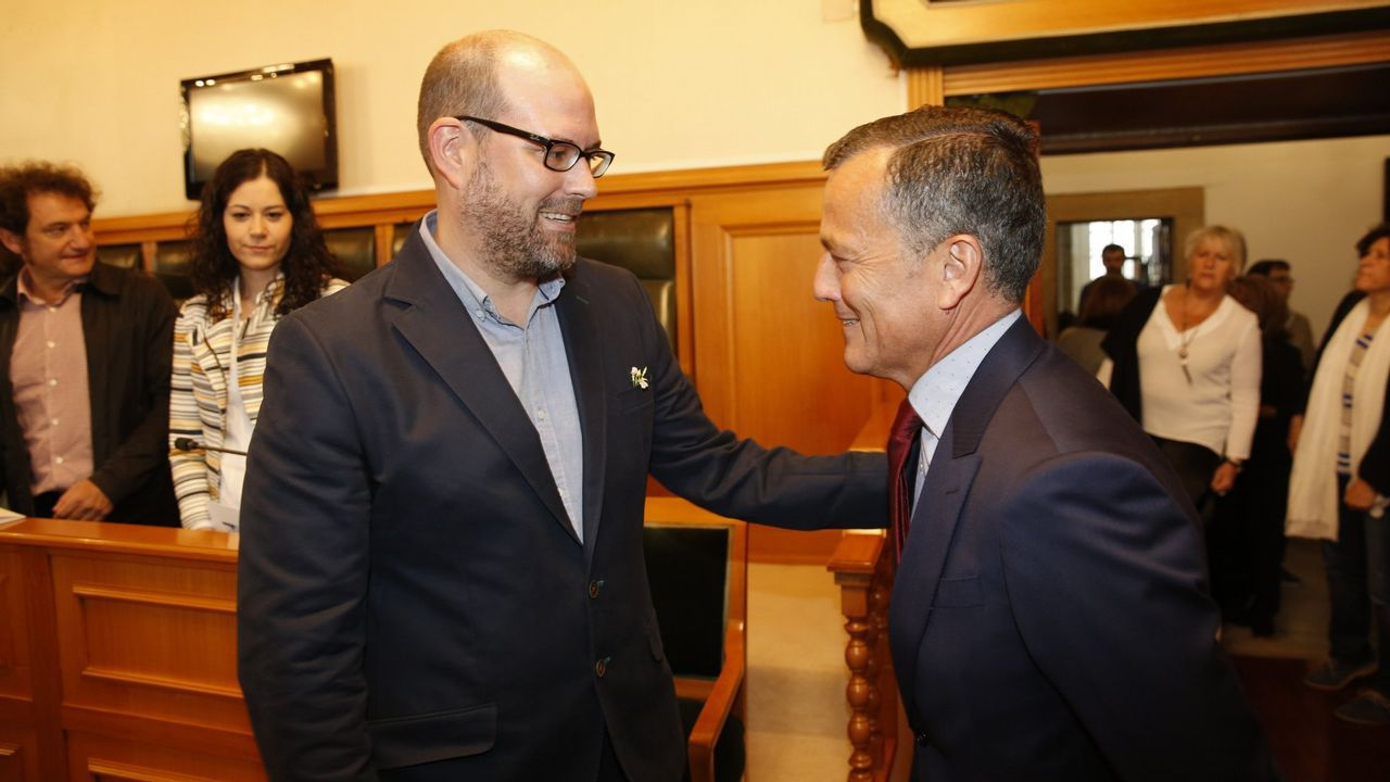 Junta de accionistas del Pontevedra.Liberbank
