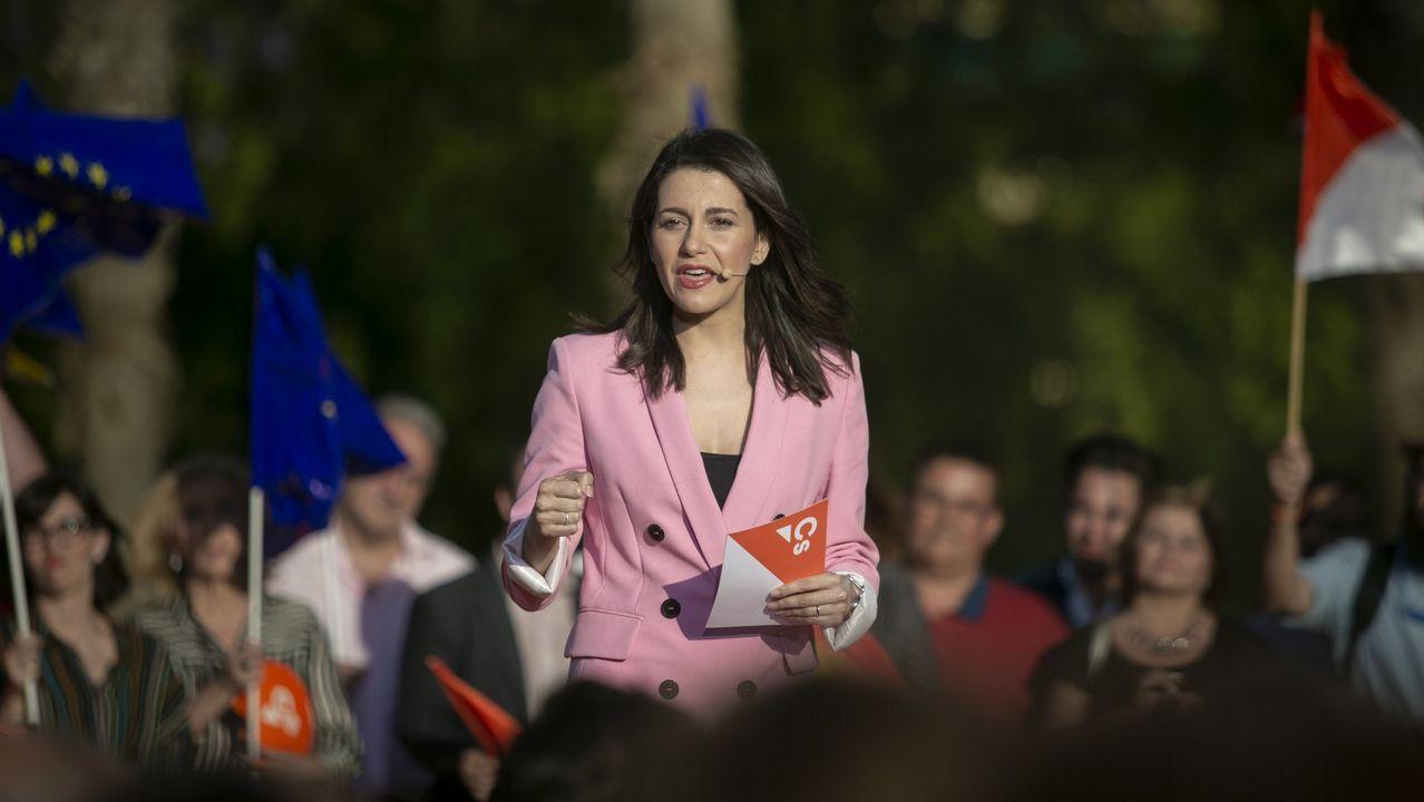 Inés Arrimadas (Ciudadanos). Deja el Parlamento catalán para ir al Congreso.