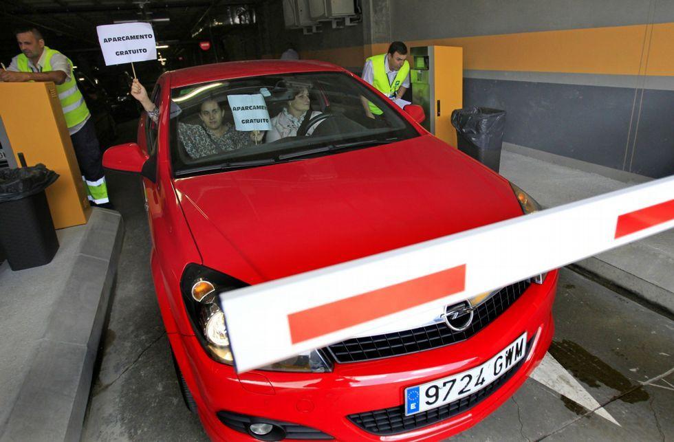 El pago por aparcar es uno de los temas más polémicos y ha motivado protestas.