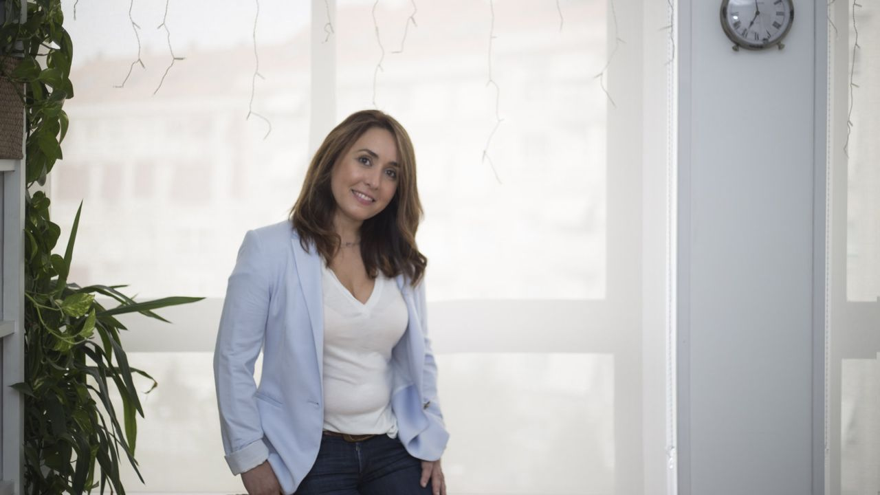 Carmen Rubiños, directora del centro de mayores de Ribadeo y psicóloga