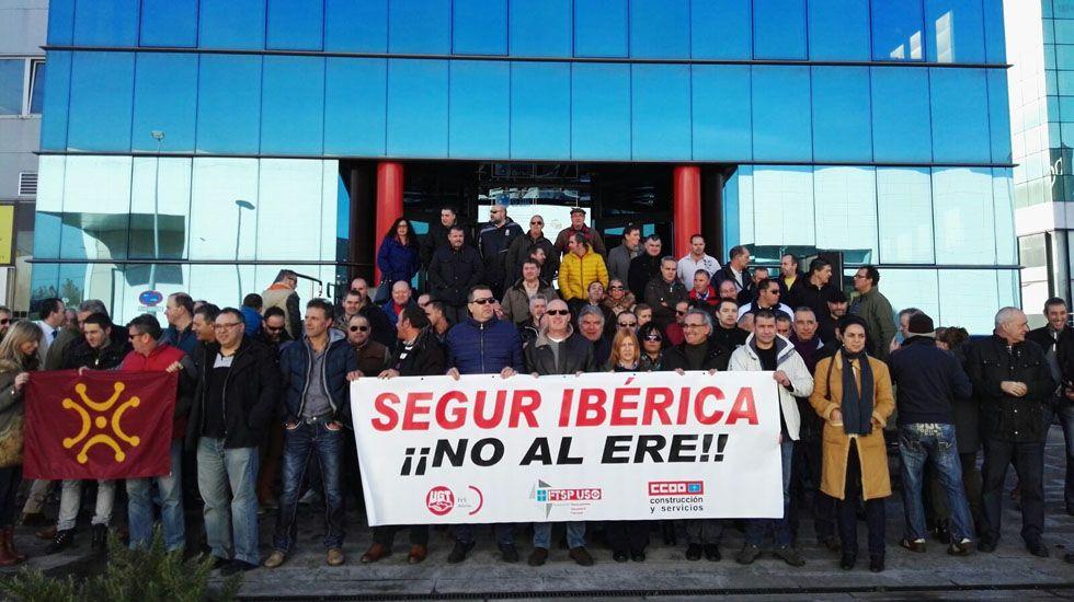 Concentración Segur Ibérica.Concentración Segur Ibérica