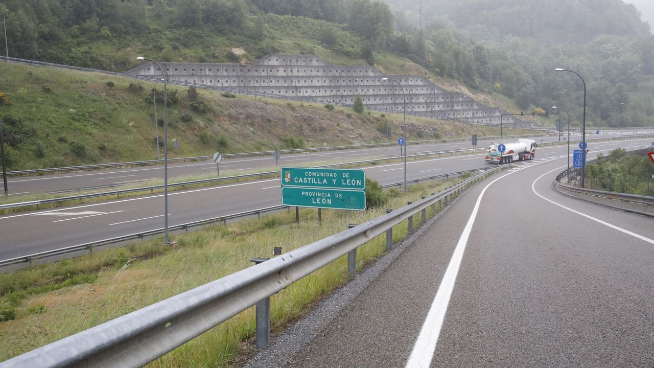 Frontera entre Galicia y Castilla y León sin controles