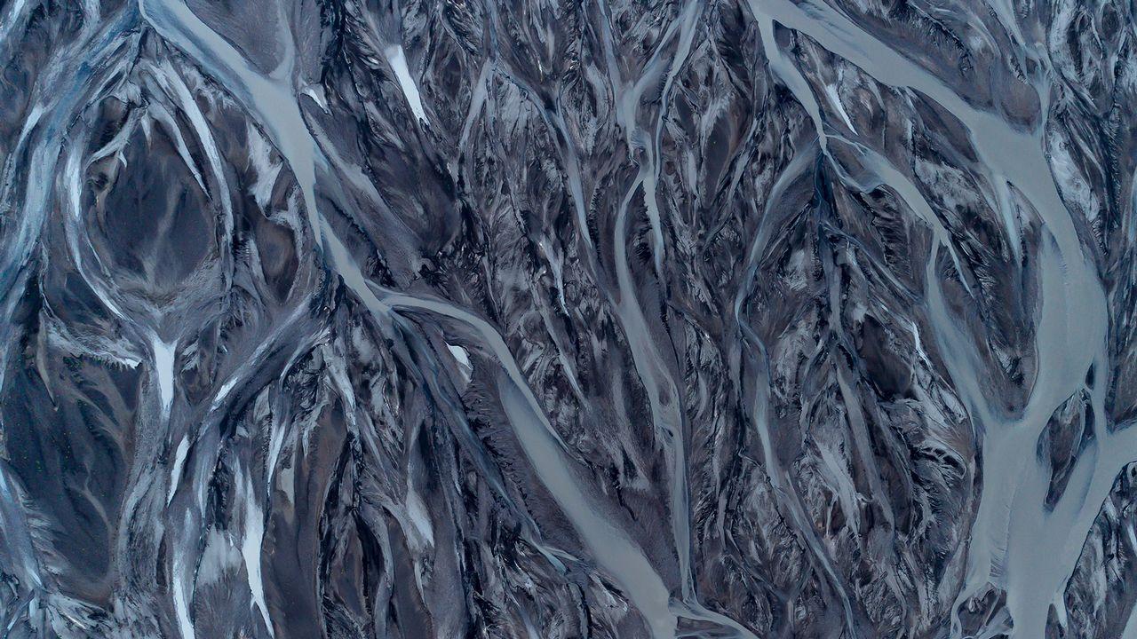 Ríos helados en Islandia