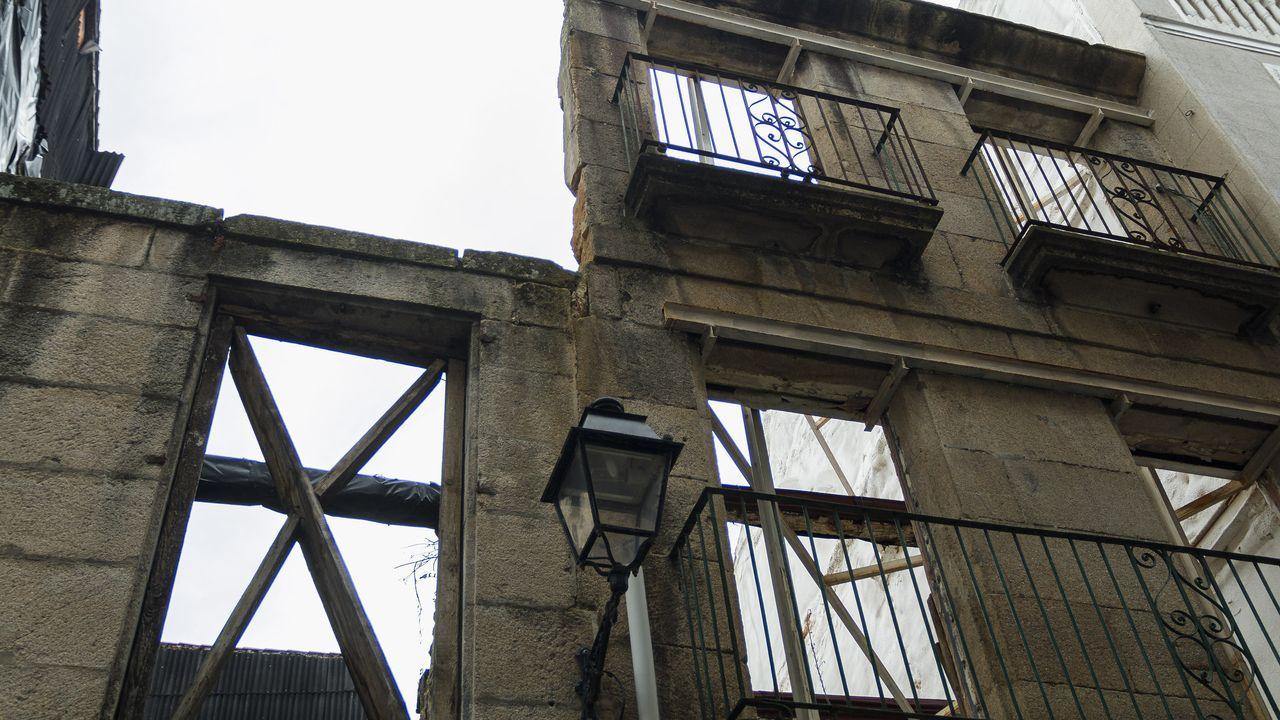 Edificio en la rúa Lepanto que será rehabilitado