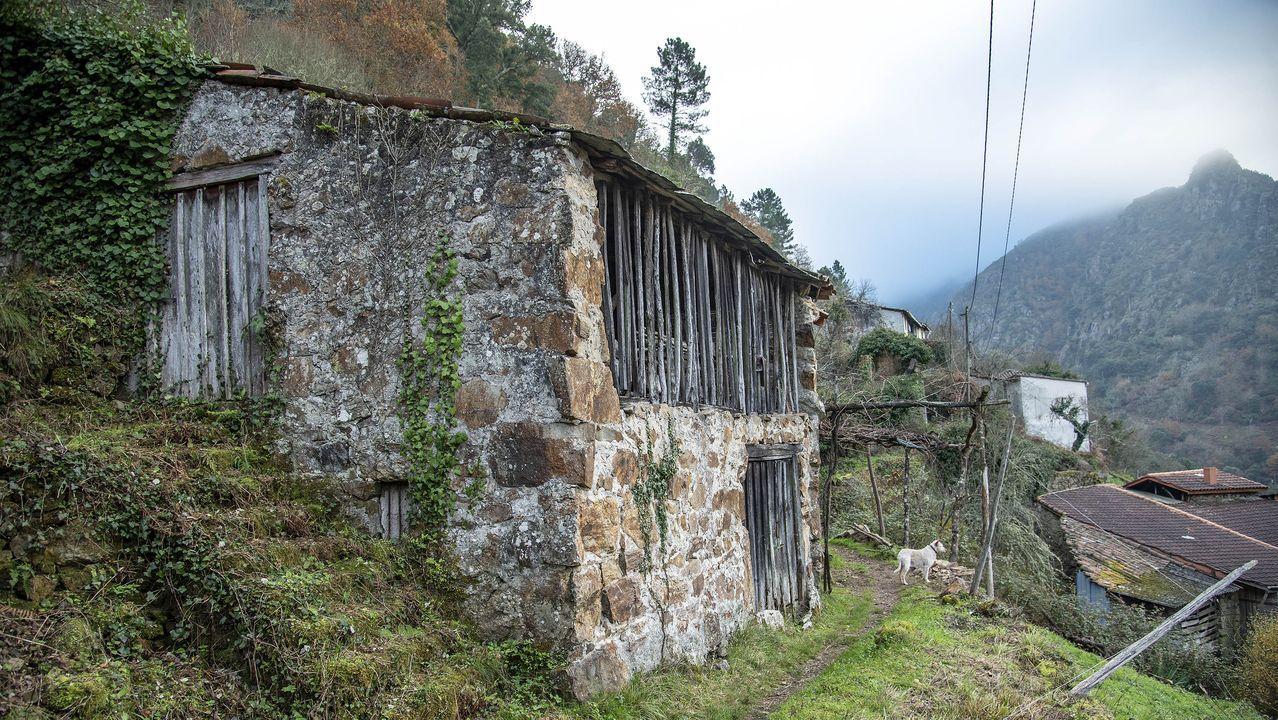 En la aldea de A Barca hay varias bodegas de tipo tradicional