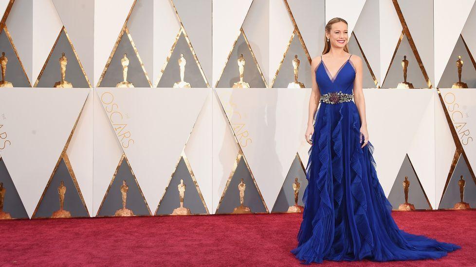 Brie Larson, protagonista de «The Room»
