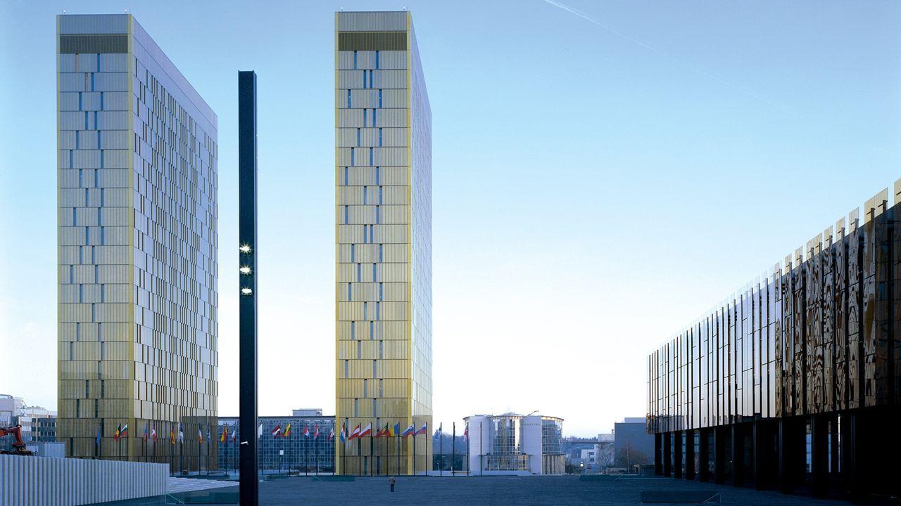Foto de archivo del Tribunal de Justicia de la Unión Europea
