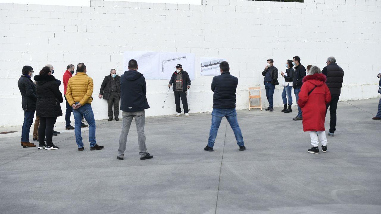 Cinco años con la pasarela de Arteixo cerrada.Francisco Reynés presidente el grupo Naturgy desde el 2018