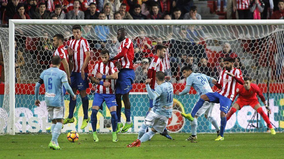 Celta - Sporting, en imágenes