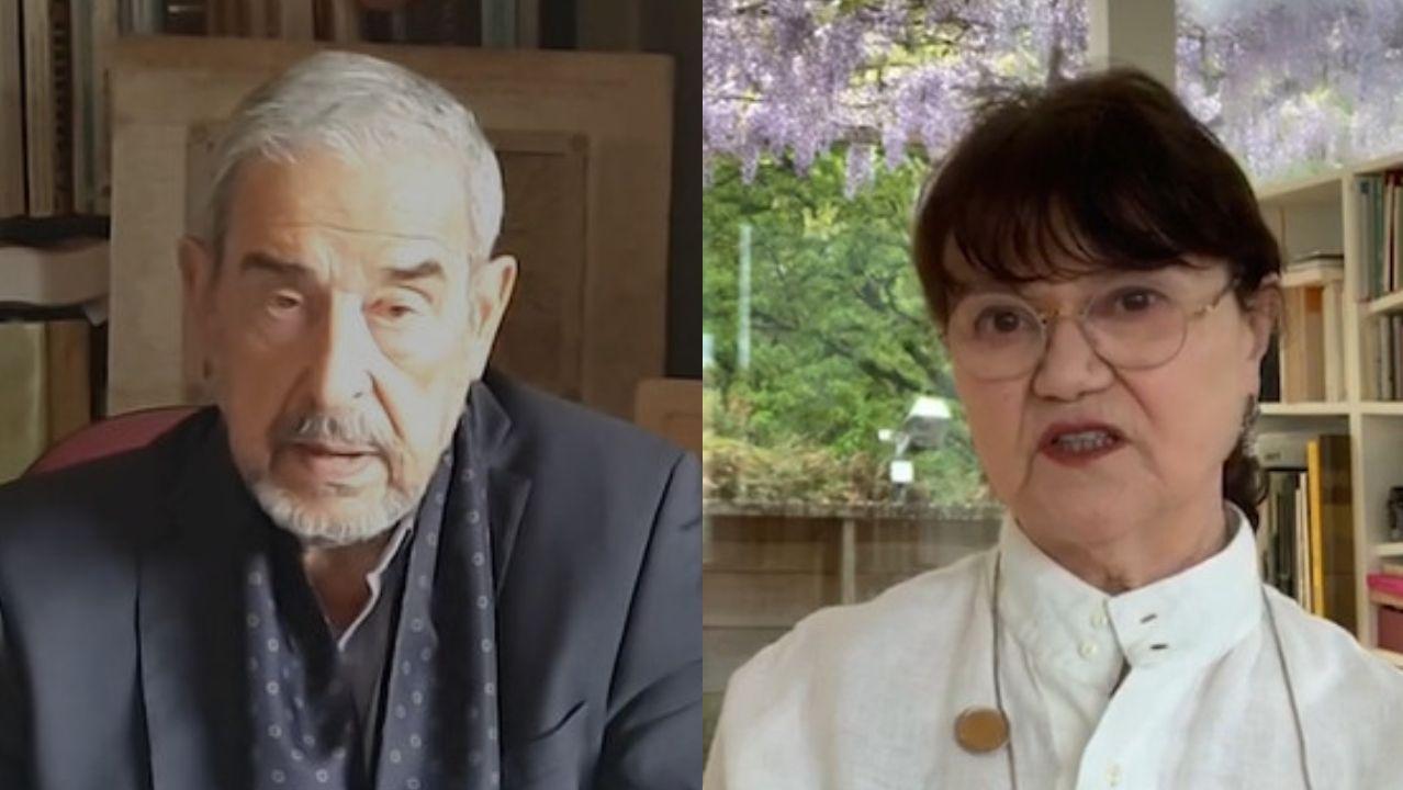 Veinte años de un yacimiento único en Lugo.Salvador García-Bodaño e Margarita Ledo son algúns dos participantes na iniciativa