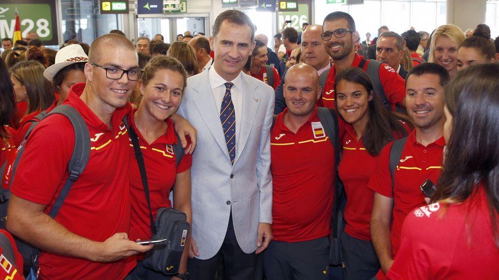 Los Reyes despiden al equipo olímpico español