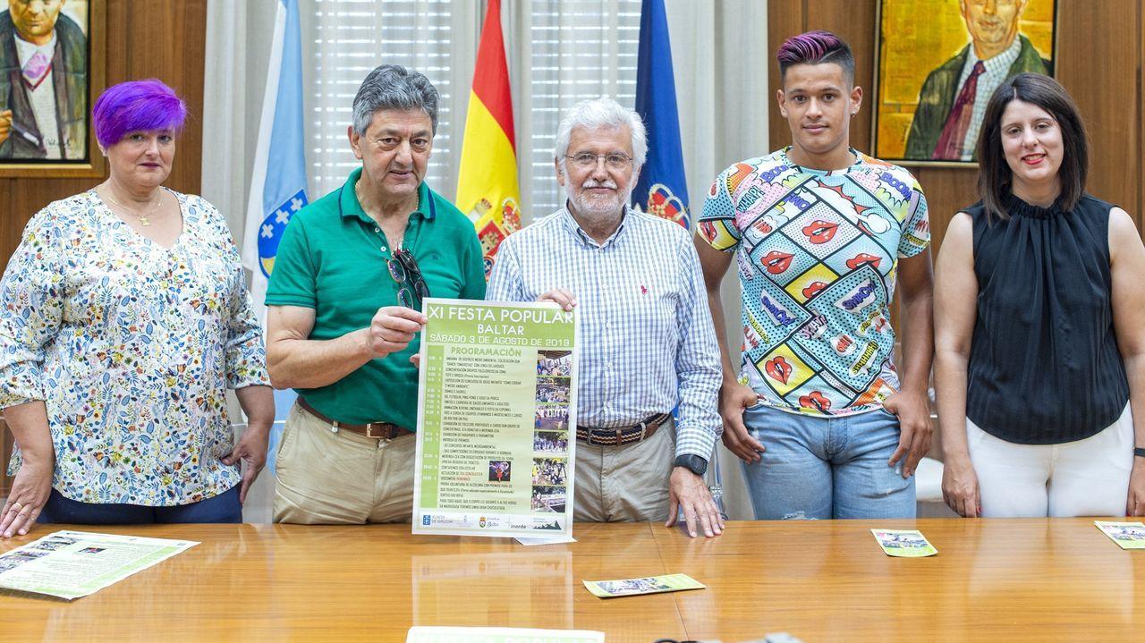 Presentación de la Festa Popular de Baltar en el año 2019