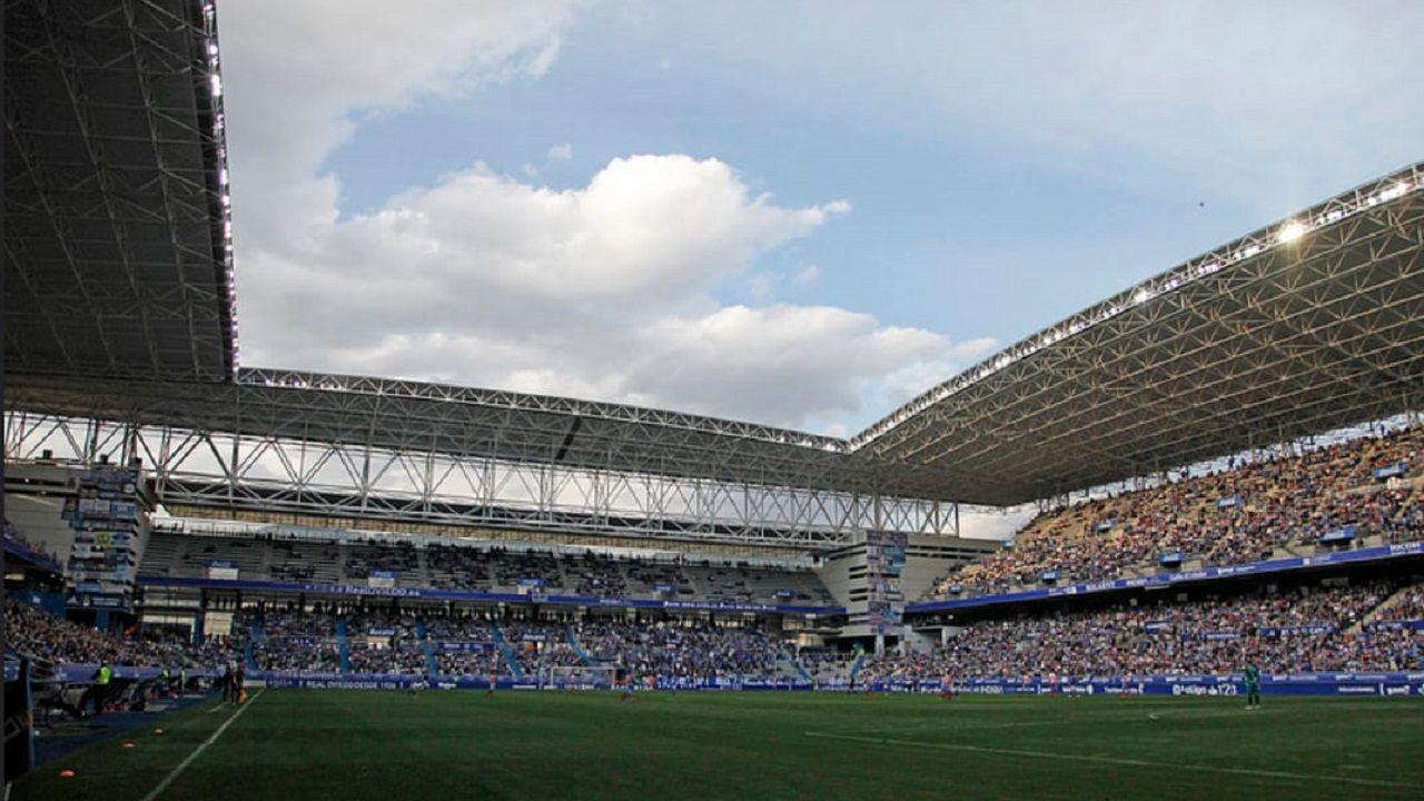 La actuación de Shakira y JLo en la Super Bowl, en fotos.El Carlos Tartiere, antes del comienzo del Real Oviedo-Lugo 18/19