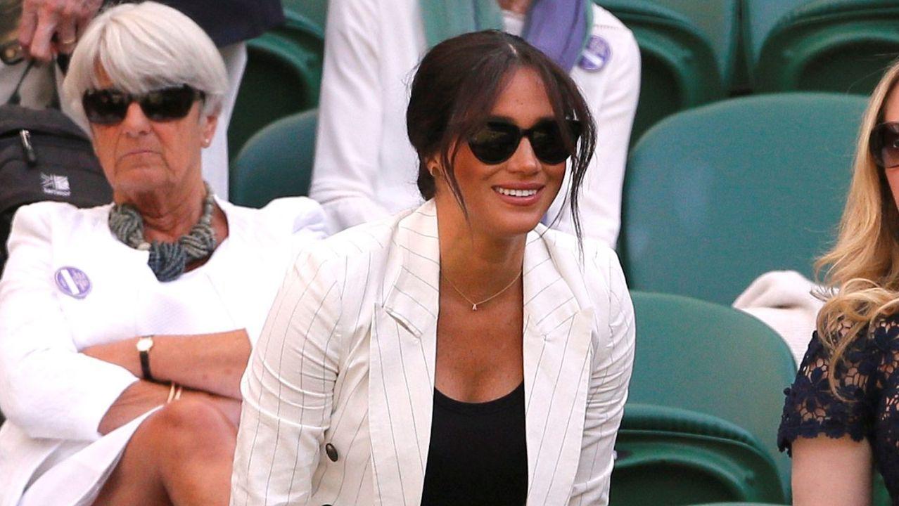 La criticada asistencia de Meghan Markle al tenis.TIROLINA EN MALPICA