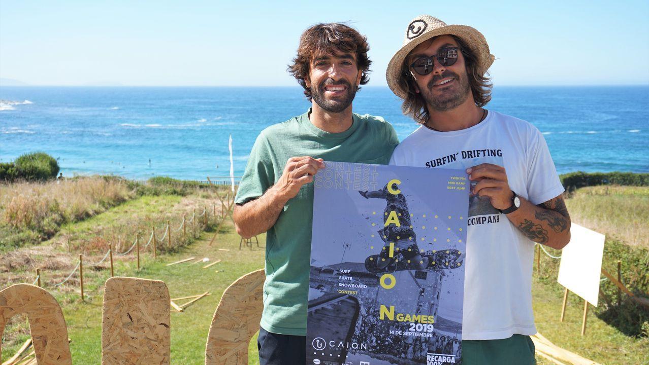 Caión, punto de partida del Grand Trail Costa da Morte: ¡las imágenes!