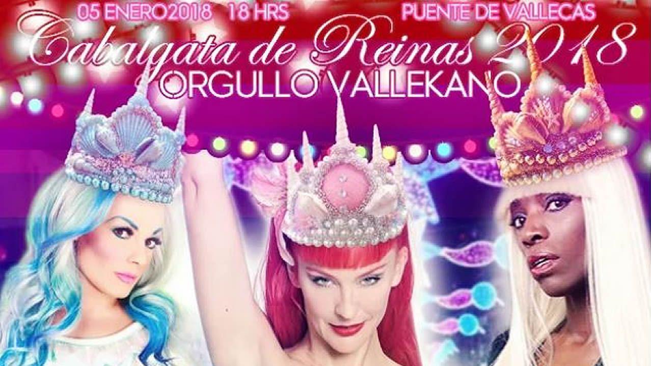 Cartel de la asociación Orgullo Vallekano