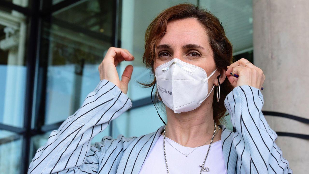 Mónica García, candidata de Más Madrid a las elecciones autonómicas del 4 de mayo