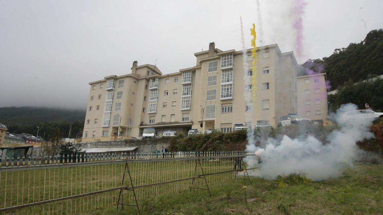 Imagen de archivo de la Comandancia de la Guardia Civil de Burela