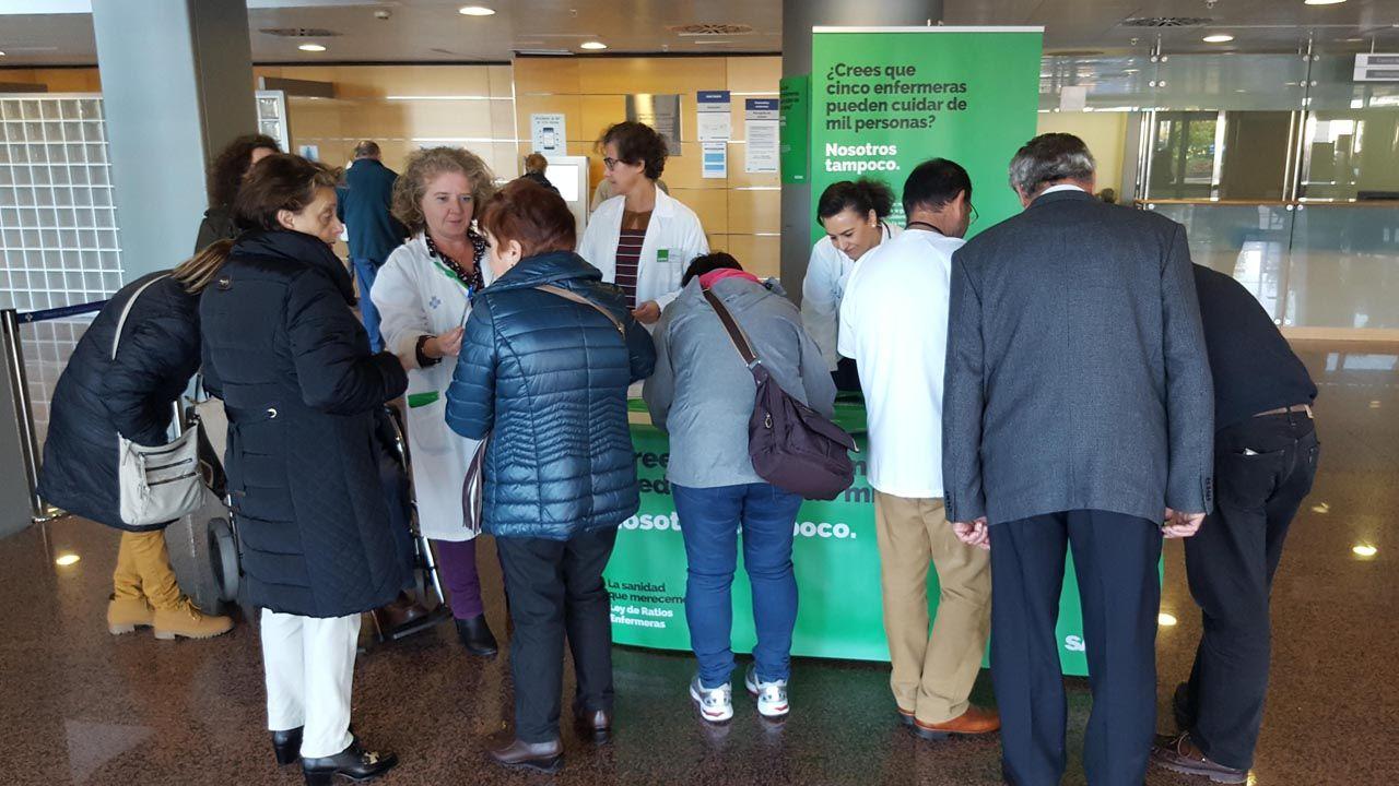 El hospital San Agustín, un referente del reciclaje.Los enfermeros de SATSE piden firmas para una Ley que aumente las plantillas enfermeras en los centros sanitarios de Asturias