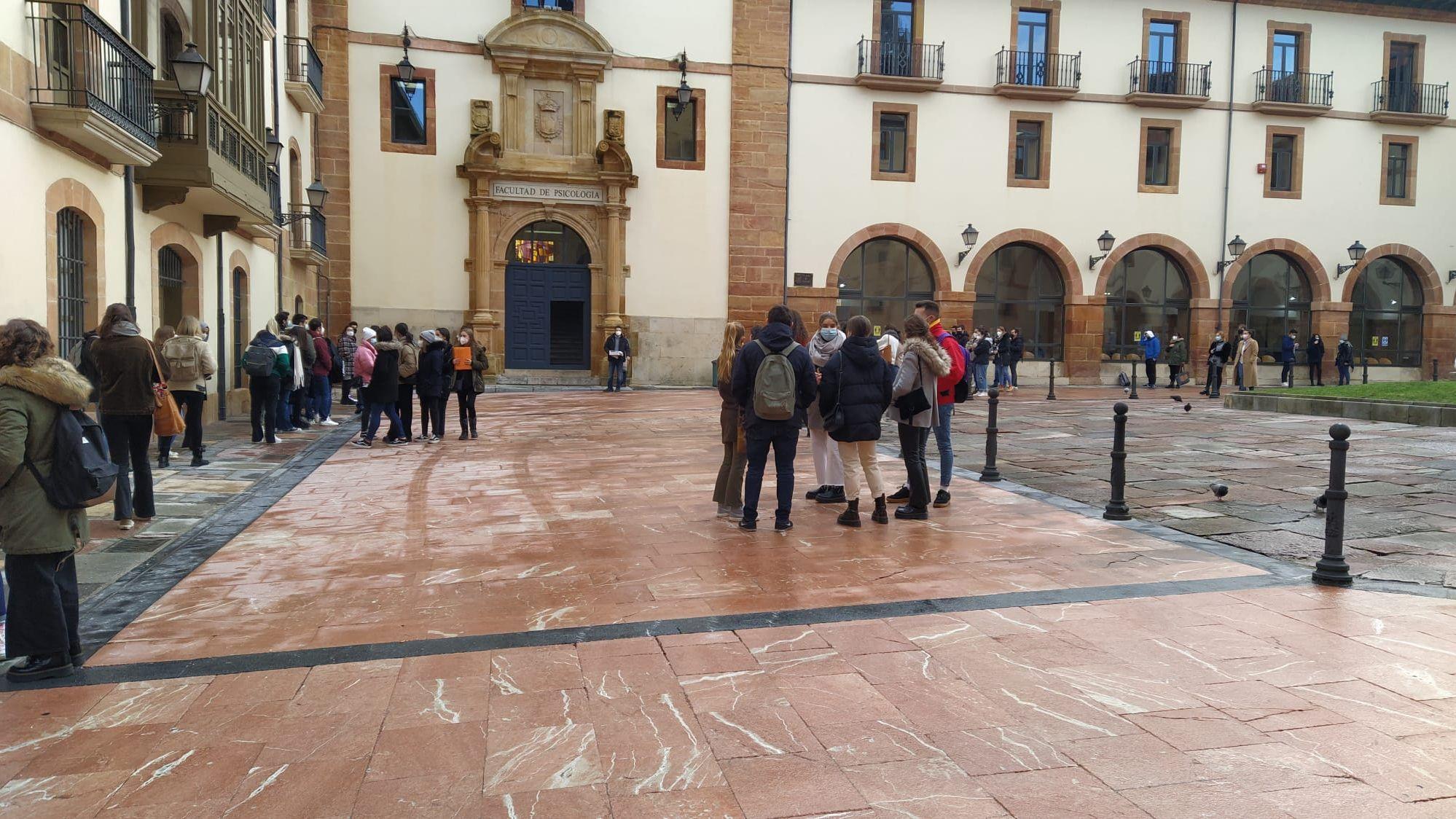Estudiantes de la Universidad de Oviedo