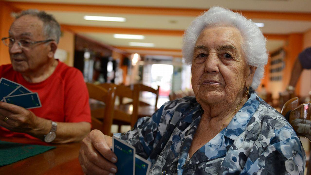 Preciosa Diéguez, 90 años. De Xunqueira, vive en Ourense. Fue agricultora